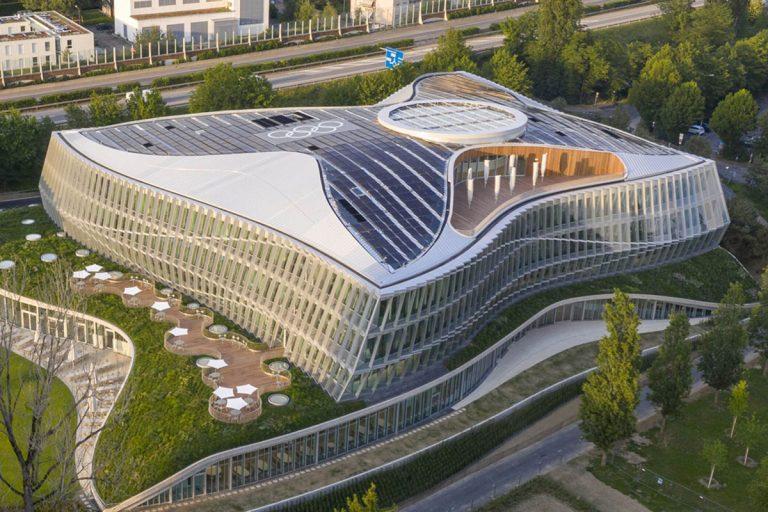 國際奧會榮獲綠建築先導獎