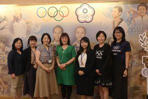 日本台灣交流協會新任部長 親臨本會討論 2020 東京奧運籌備事務
