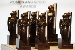 2021 年國際奧會女性與運動獎座(IOC Women and Sport Awards)提名公告