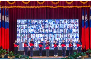 蔡總統授旗前進東京 中華奧會首創線上遊戲  邀全民「一起成為中華隊」