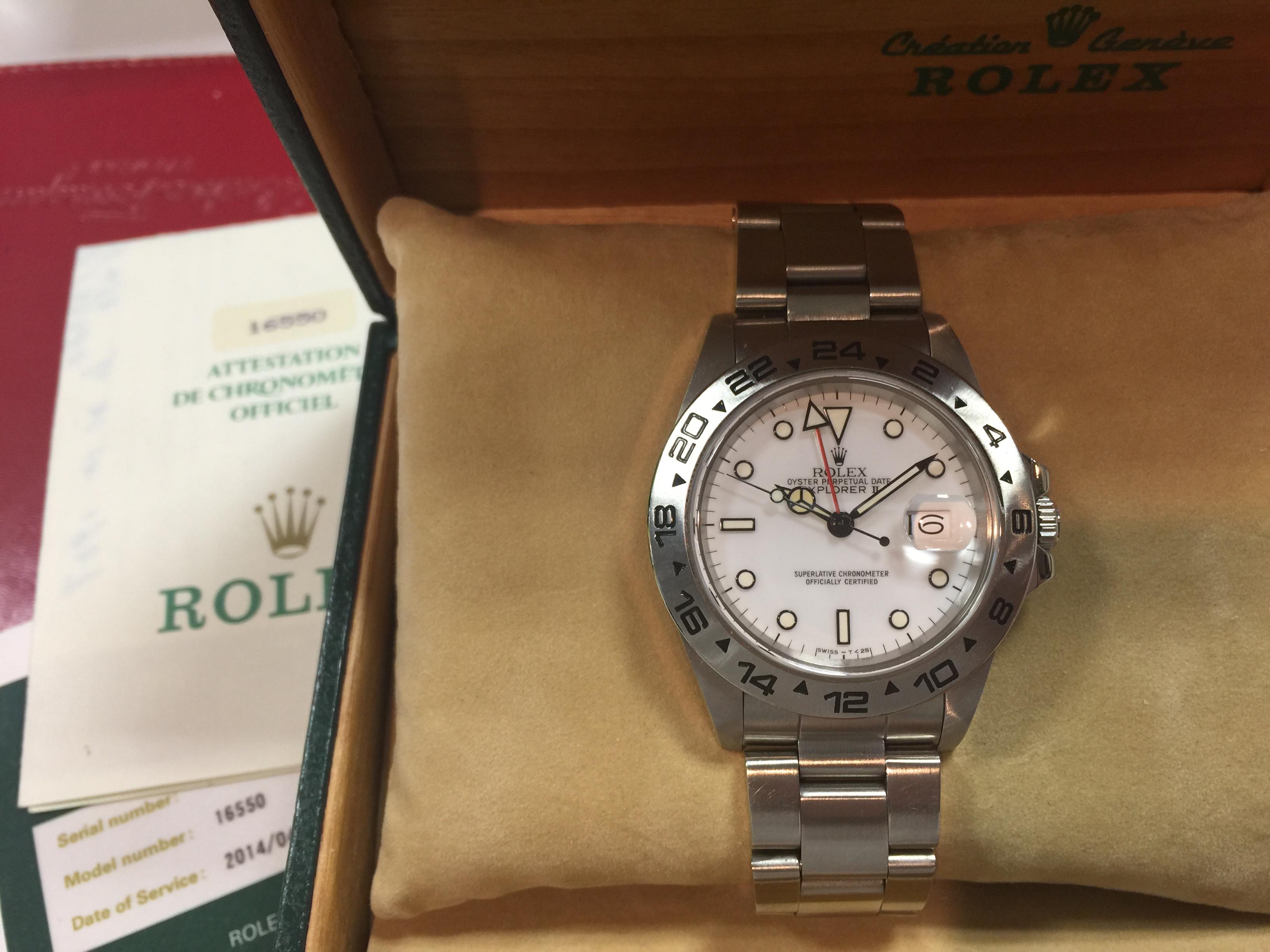 outlet store 35f54 685c2 ロレックス ROLEX 16550 R番 | 時計の高価買取・無料査定なら ...