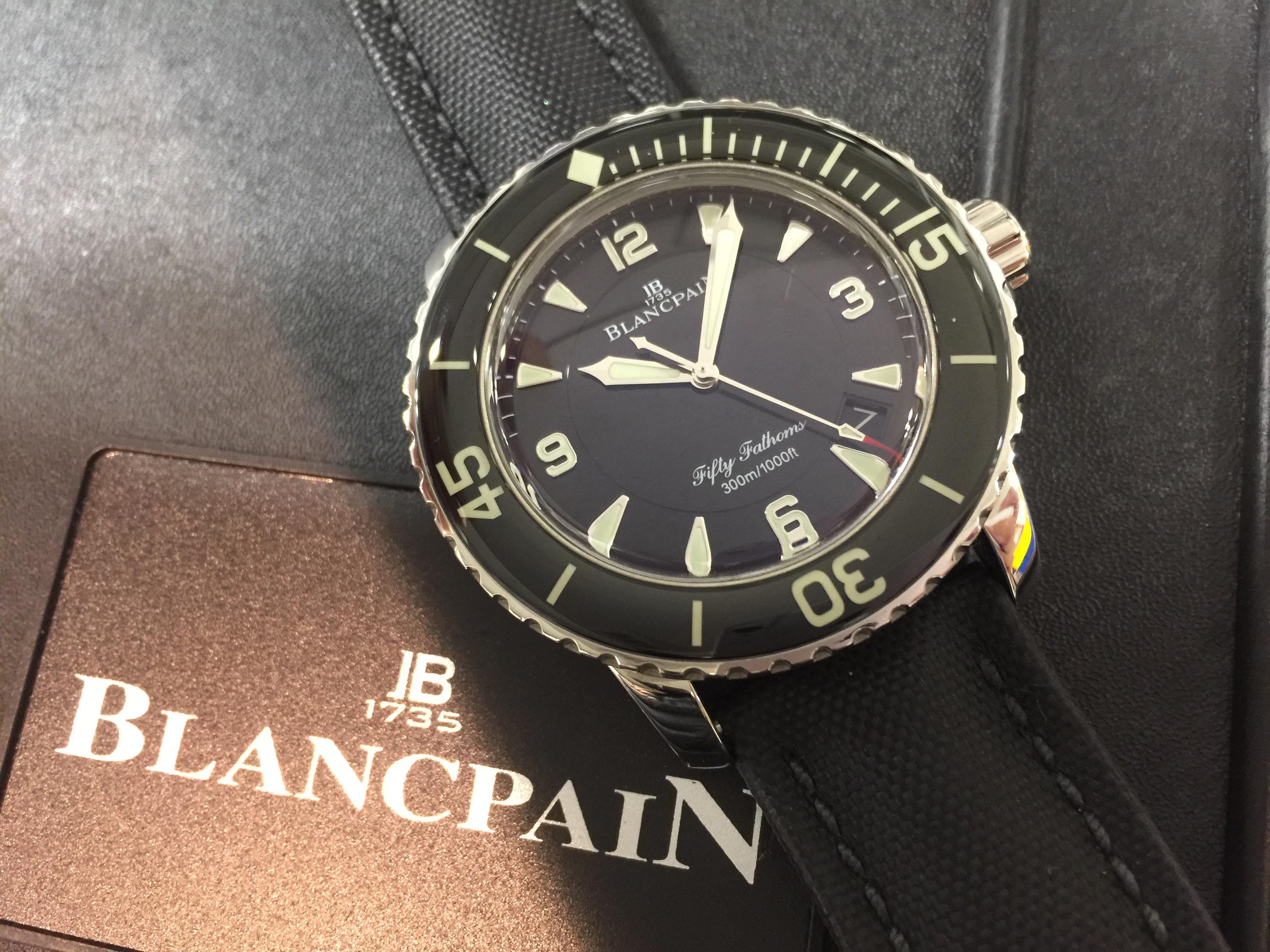 ブランパン BLANCPAIN フィフティファゾムス 5015-1130-52