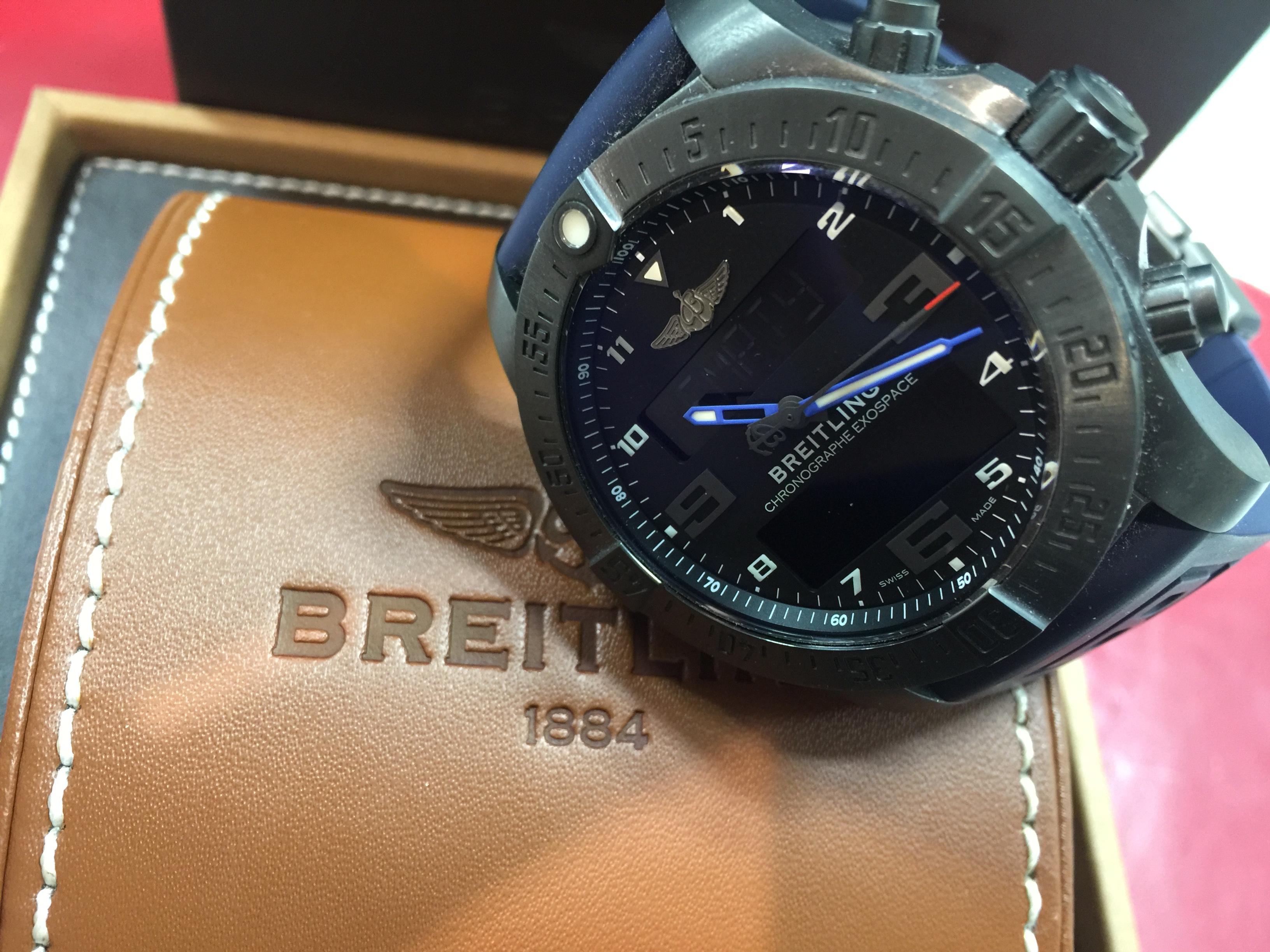 ブライトリング BREITLING エクゾスペースB55 VB5510H2/BE45 VB5510