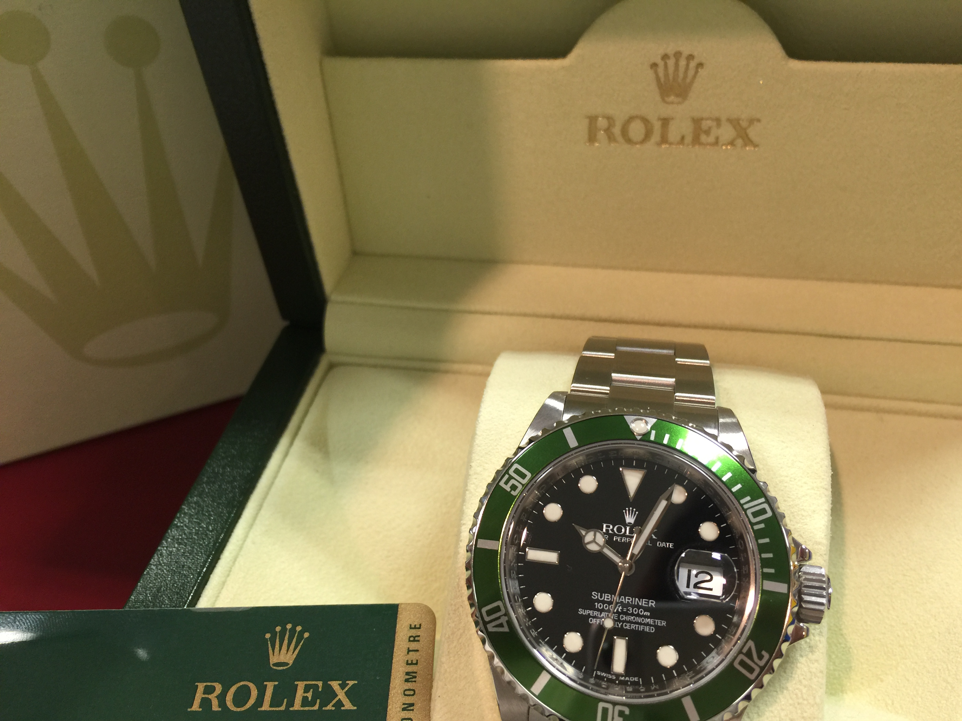 ロレックス ROLEX サブマリーナー デイト  116610LV M番