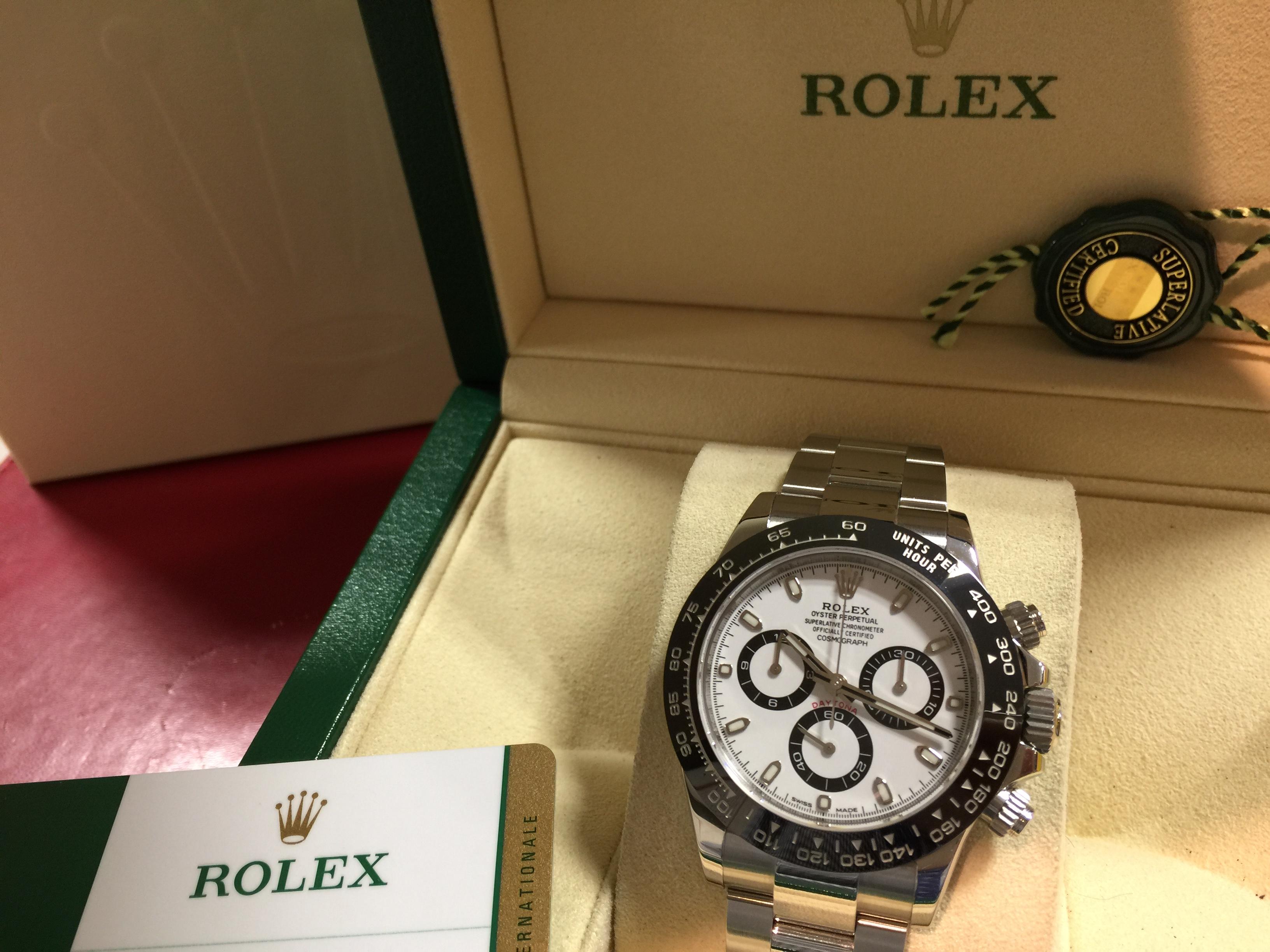 ロレックス ROLEX デイトナ 116500LN WHT