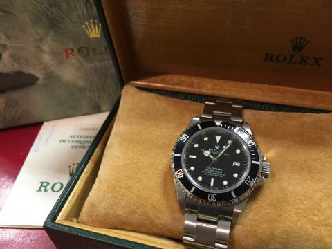 ロレックス ROLEX シードゥエラー 16600 S番
