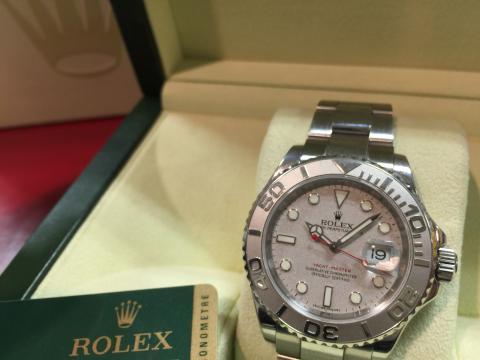 ロレックス ROLEX ヨットマスターロレジウム 16622 Z番