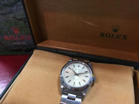 ロレックス ROLEX エアキング 14000 W番