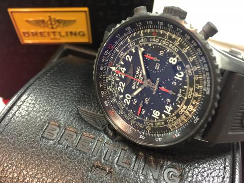 ブライトリング BREITLING コスモノート ブラックスティール MB021QB6 MB0210
