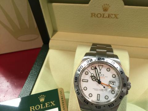 ロレックス ROLEX エクスプローラーⅡ 216570 G番