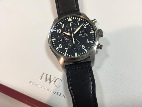 インターナショナル・ウォッチ・カンパニー IWC パイロットウォッチクロノ IW377709