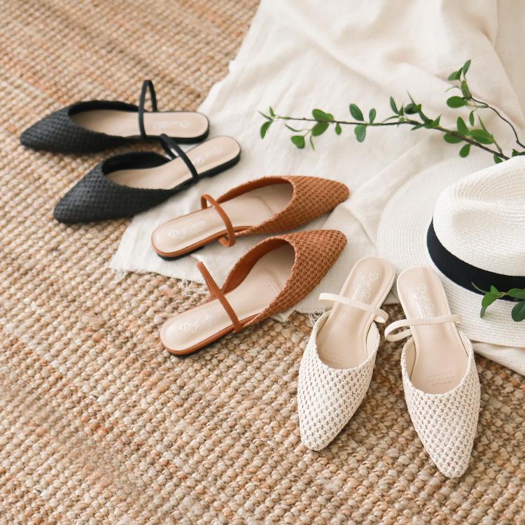 編織穆勒鞋