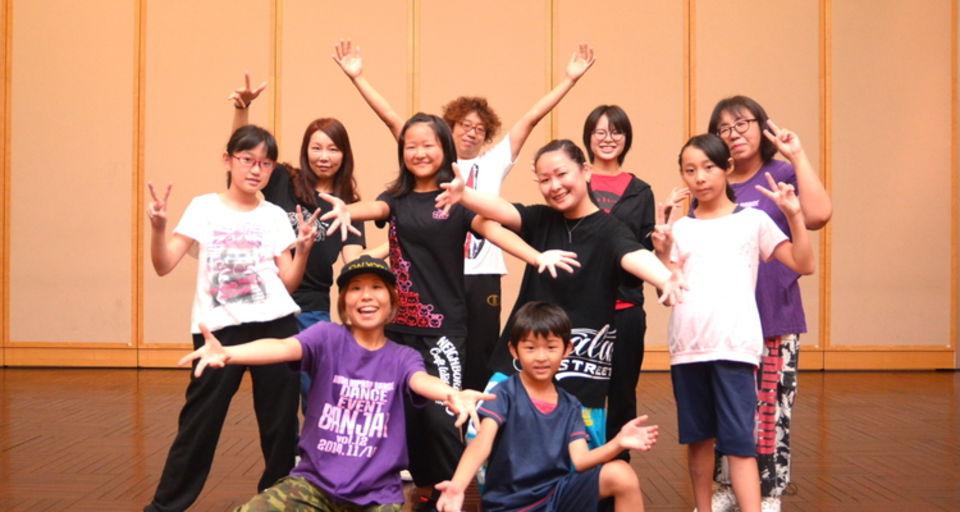 ルミヒップホップダンス 橋本クラス