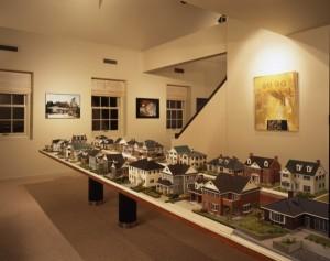 600展示場と模型