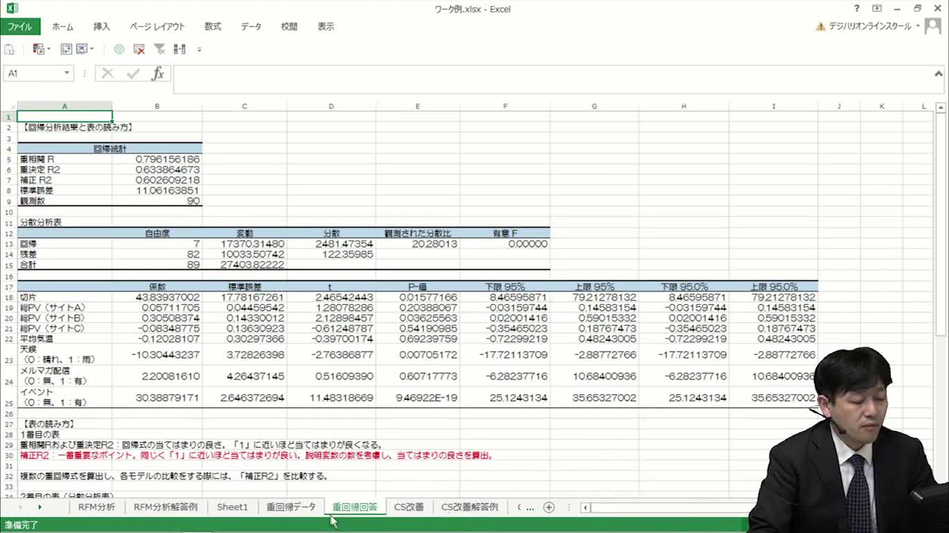 02_ワーク-重回帰分析
