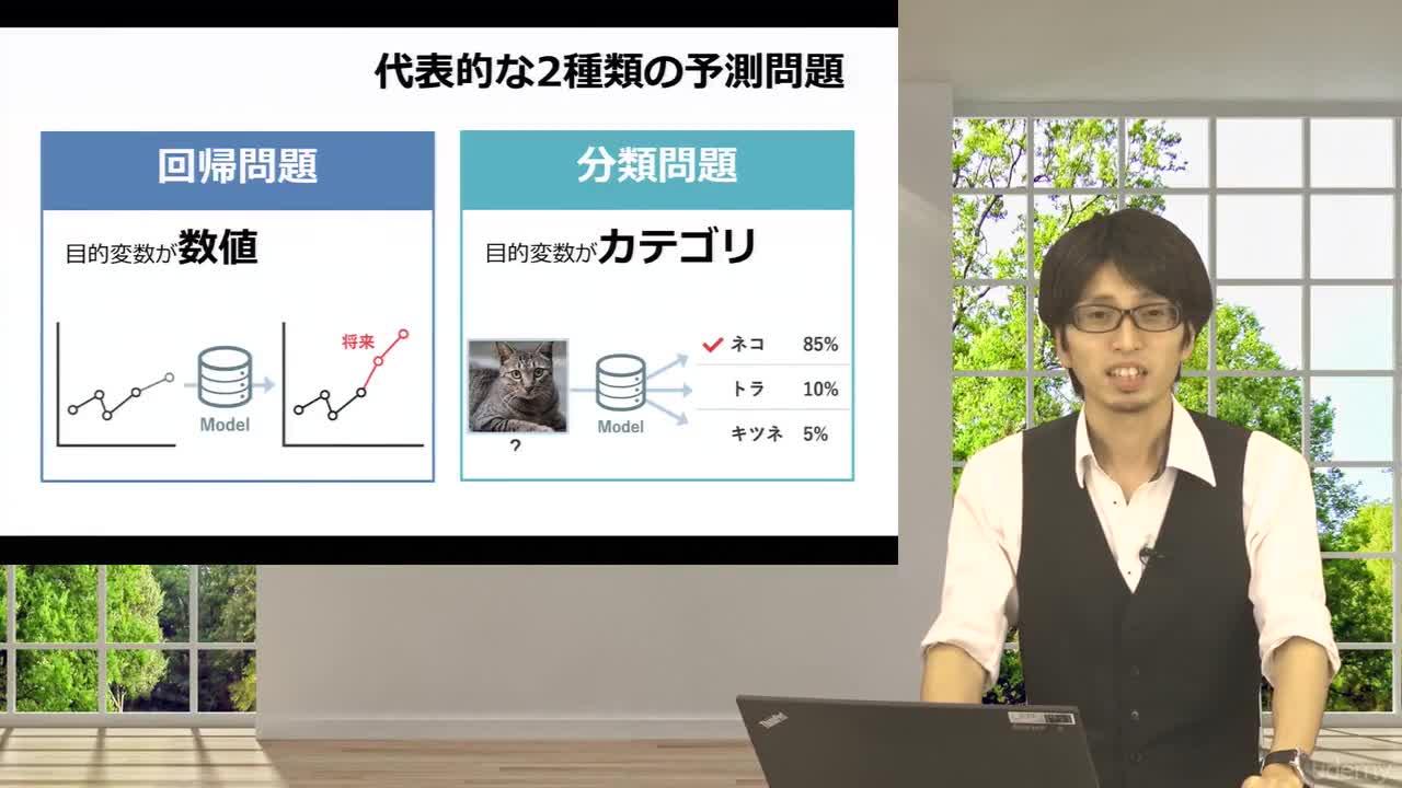 【スライド】代表的な予測問題