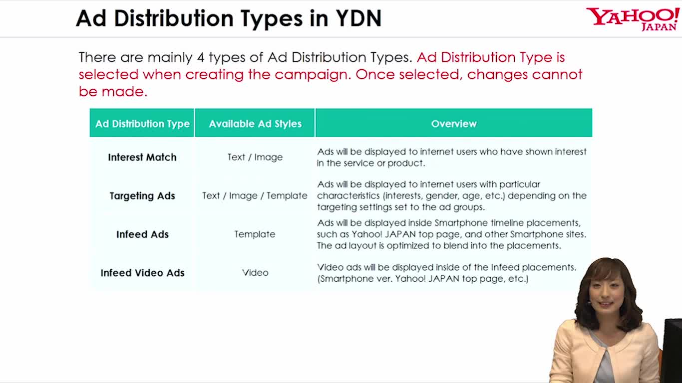 Ad Distribution Types&Account Structure
