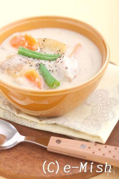 鶏肉の雑穀クリームシチュー