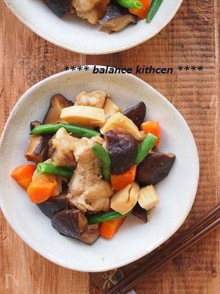 【作り置き】時短!鶏肉とたっぷり椎茸の旨煮