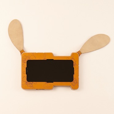 SKOLOCT iPhone Frame Case	(Camel)