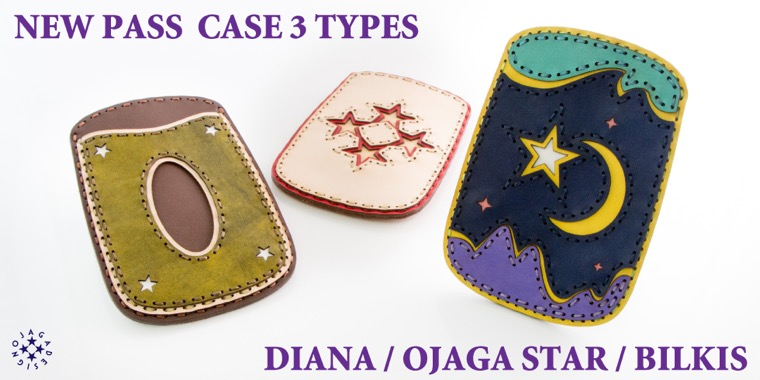NEW PASS CASE 3TYPES