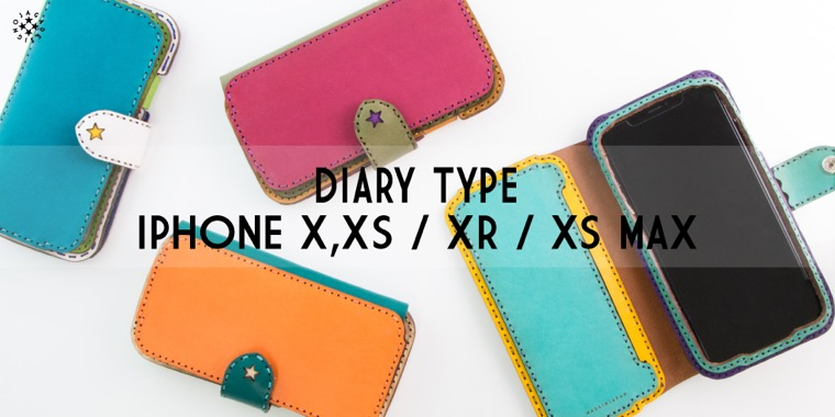 DIARY TYPE IPHONE X,XS / XR / XS MAX CASE