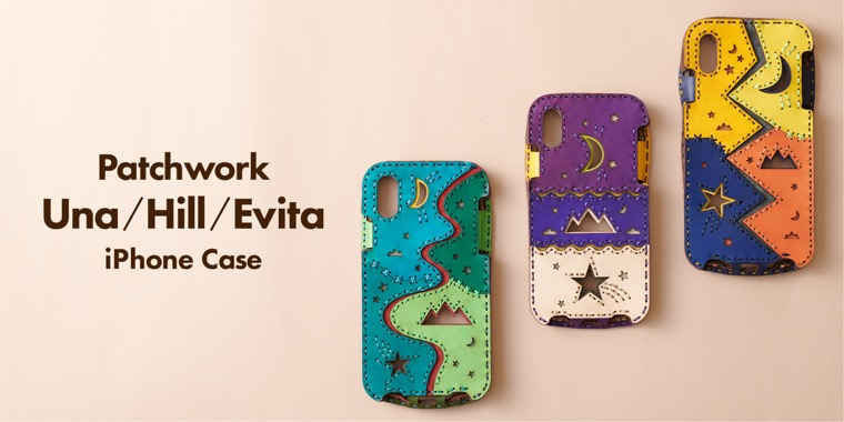 PATCHWORK iPHONE CASE UNA/HILL/EBITA