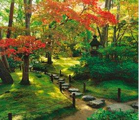 画像:10月 大河内山荘(京都) 庭・四季詩情 2017年版カレンダー