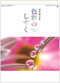 色彩のしずく・浅井美紀作品集 2017年版カレンダー