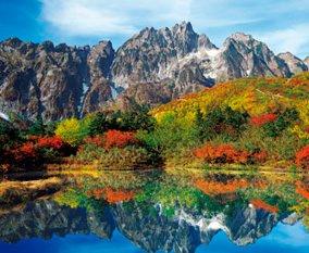 画像:9-10月 仙人池より剣岳・八ツ峰(富山) 四季彩峰 2017年版カレンダー