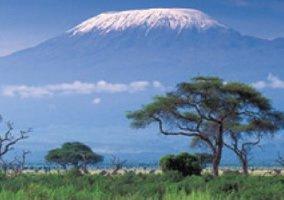 画像:6月 キリマンジャロ国立公園(タンザニア) 魅惑の世界遺産 2017年版カレンダー