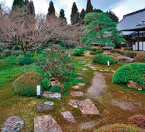 画像:2月 雲龍院(京都) 庭の詩情 2017年版カレンダー