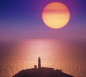 画像:1-2月 エドモンド・ネゲール写真  アングルシー島(イギリス) 光の幻影 2017年版カレンダー