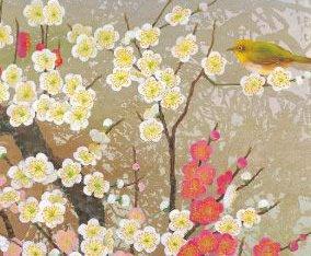 画像:鳥山玲 絵画「思いのまま」/1-2月 鳥山玲作品集 2017年版カレンダー