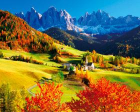 画像:9-10月 イタリア ヨーロッパ 2018年カレンダー
