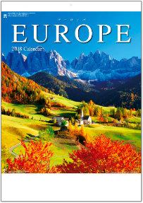 ヨーロッパ 2018年カレンダー