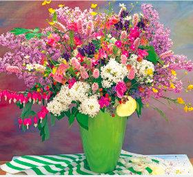 画像:5-6月 花の贈り物 2018年カレンダー