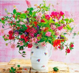 画像:9-10月 花の贈り物 2018年カレンダー