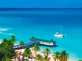 画像:5-6月 Antigua and Barbuda パラダイス 2018年カレンダー