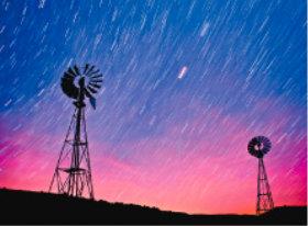 画像:12月 農園の星空 SORA -空- 2018年カレンダー