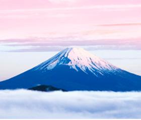 画像:1月 富士山(静岡) 日本の朝 2018年カレンダー