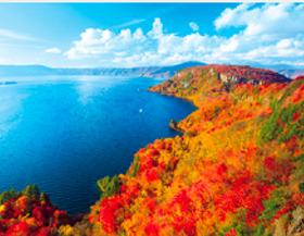 画像:10月 十和田湖(青森) ザ・日本 2018年カレンダー