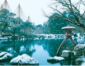 画像:12月 兼六園(石川) ザ・日本 2018年カレンダー