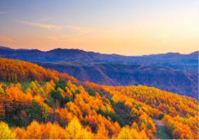 画像:11月 長野県 御岳高原 フォーエバージャパン 2018年カレンダー