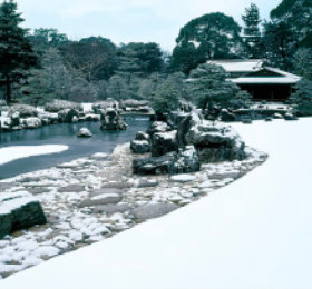 画像:11-12月 清流園(京都) 庭(フィルムカレンダー) 2018年カレンダー