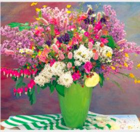 画像:5-6月 花の贈り物(フィルムカレンダー) 2018年カレンダー