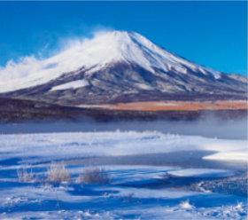 画像:1-2月 富士山(山梨) 日本六景 2018年カレンダー