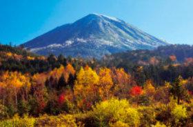 画像:10月 日和田富士 御岳山継子岳(長野・岐阜) ご当地富士 2018年カレンダー