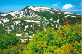 画像:6月 増毛富士 厚寒別岳(北海道) ご当地富士 2018年カレンダー