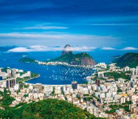 画像:9月 リオデジャネイロ(ブラジル) 外国風景 2018年カレンダー